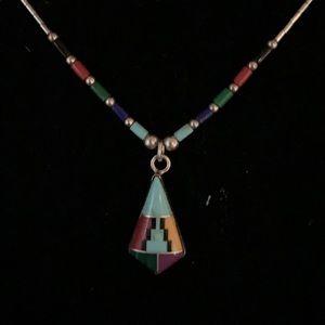 Zuni Native American Necklace